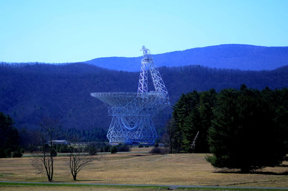 El telescopio Robert C. Byrd Green Bank