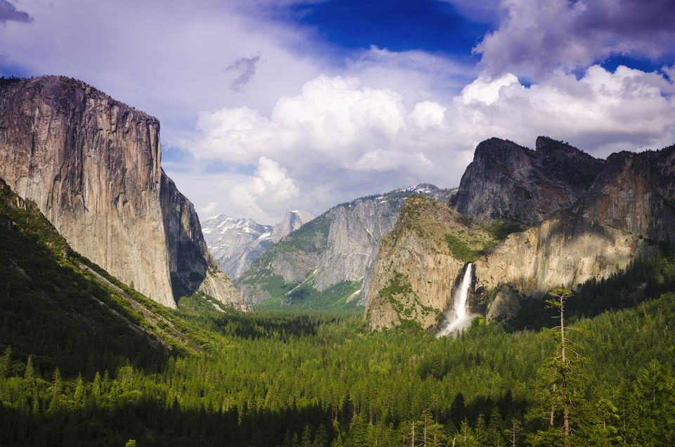 El Capitan in Yosemite Valley, Yosemite National Park