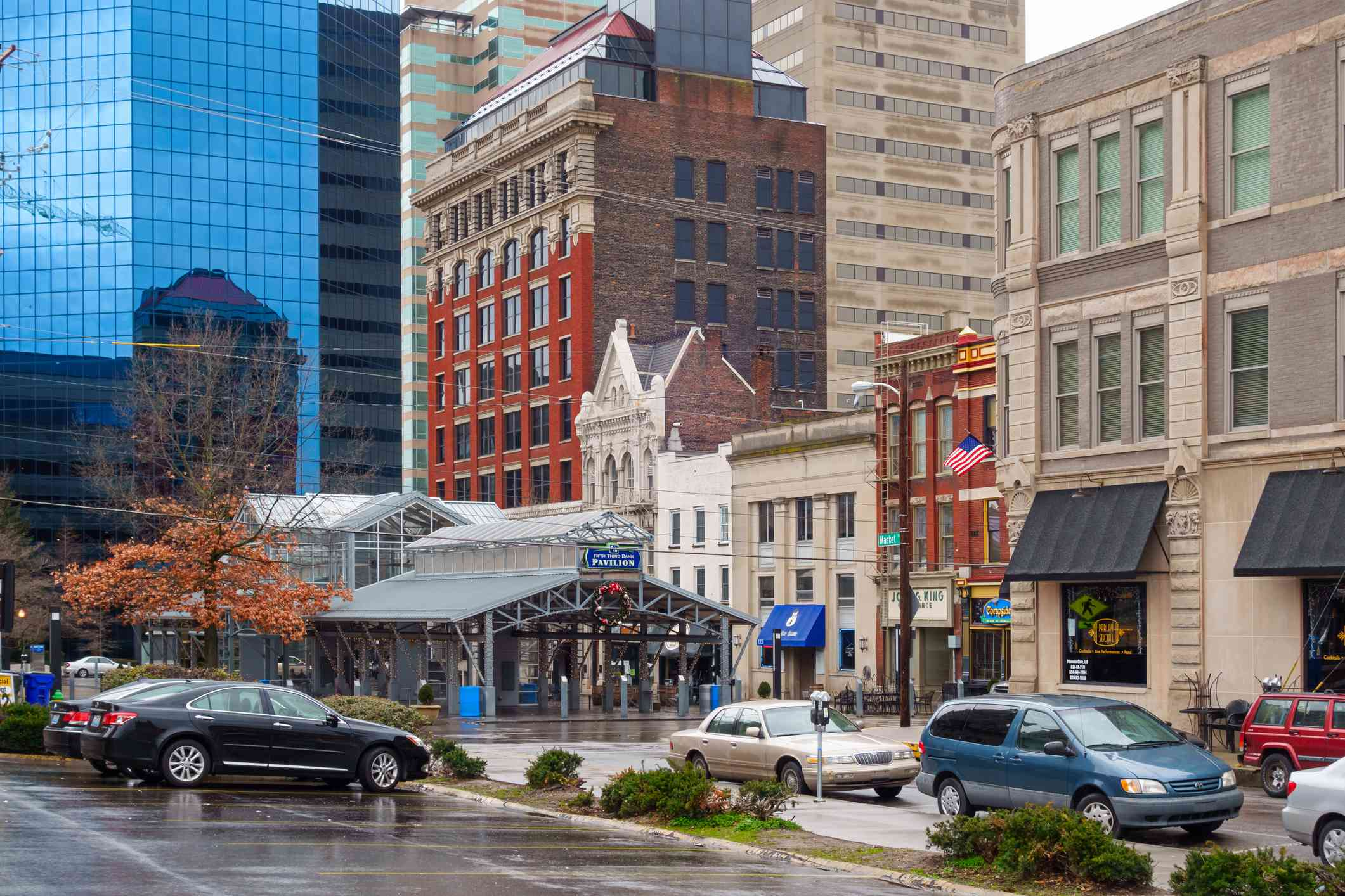 Downtown Lexington Kentucky USA
