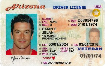 What Like An Driver's Does Look Arizona License
