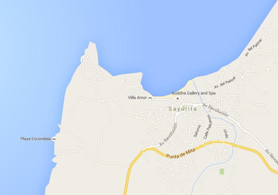 Sayulita Mexico Map Google.Maps Of Riviera Nayarit Mexico