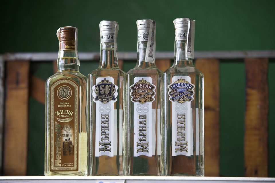 A bottle of vodka is always a popular gift