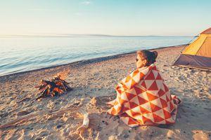 Camping on Lake Superior