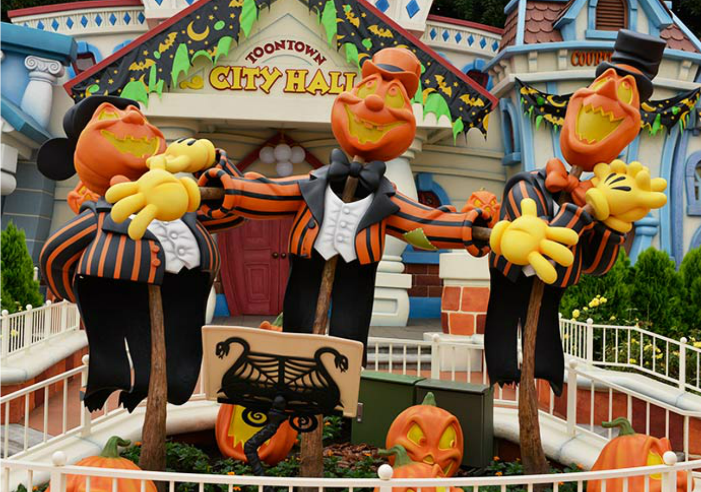 Disney Halloween Parties Around the World