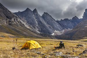 Campsite in the Arrigetch Peaks