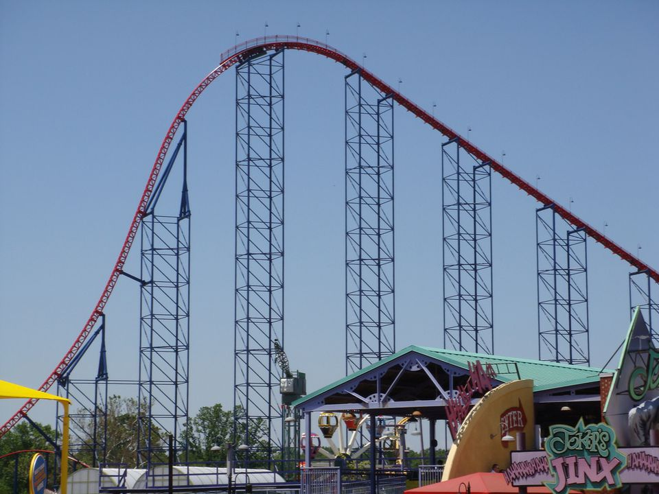 Superman Ride of Steel at Six Flags America, Maryland