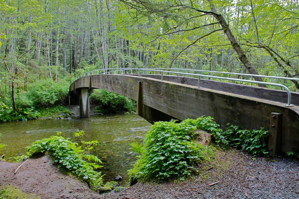 The Indian River at Sitka National Historical Park