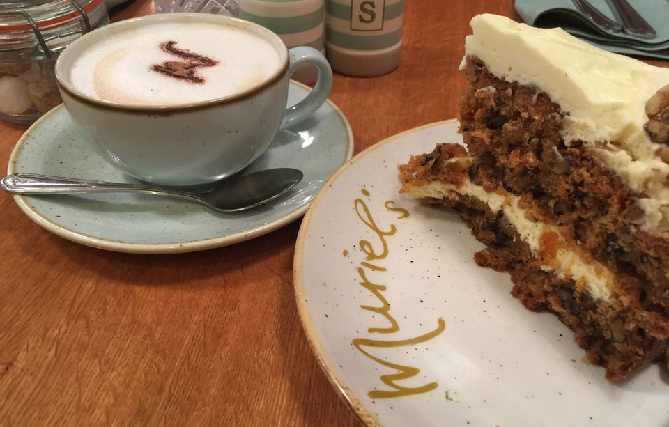 Carrot cake at Muriel's Kitchen