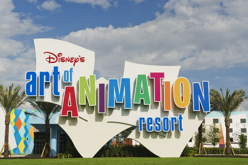 Art of Animation Sign