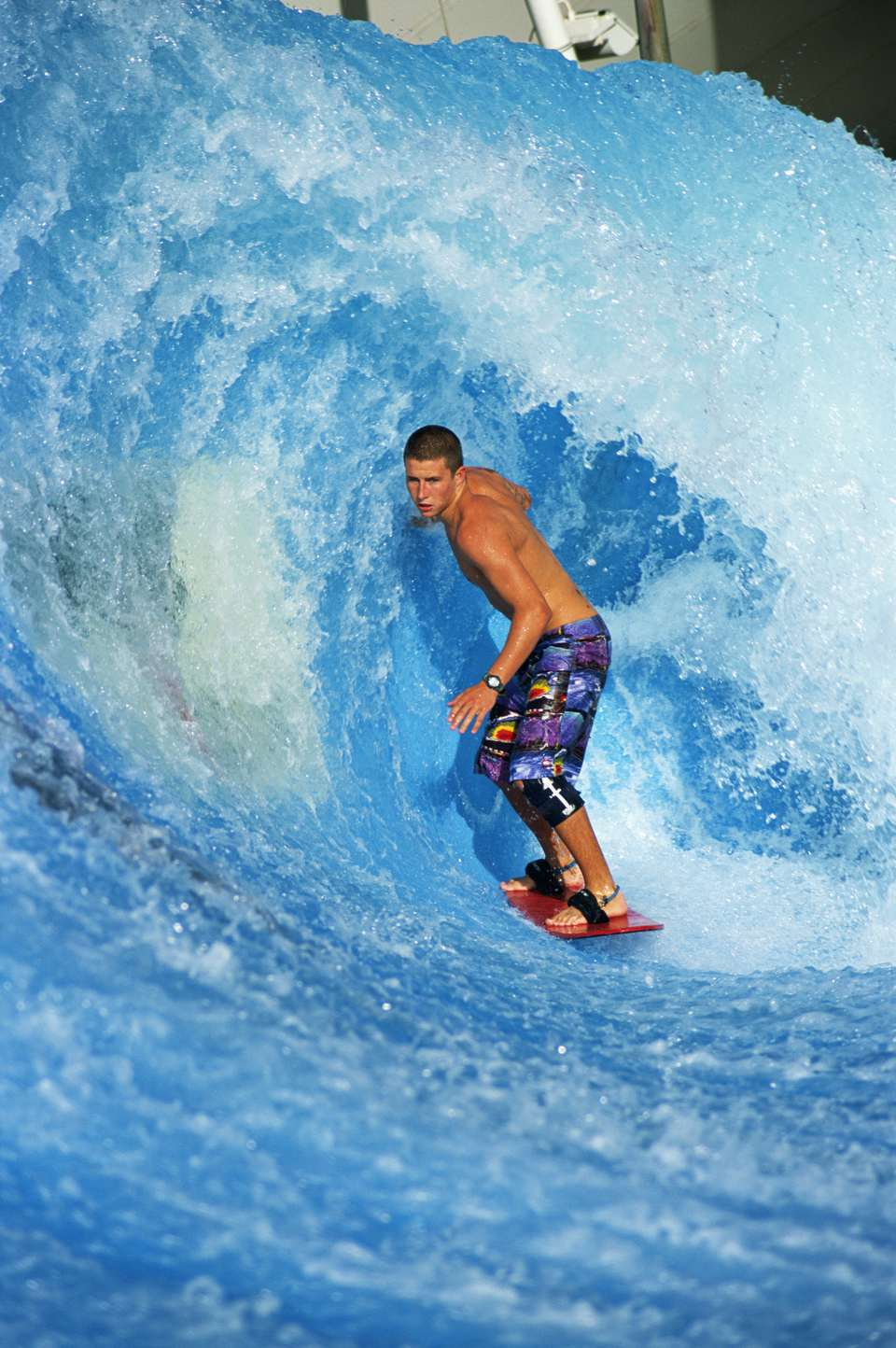 The Waveyard, with indoor surfing in Arizona never materialized.