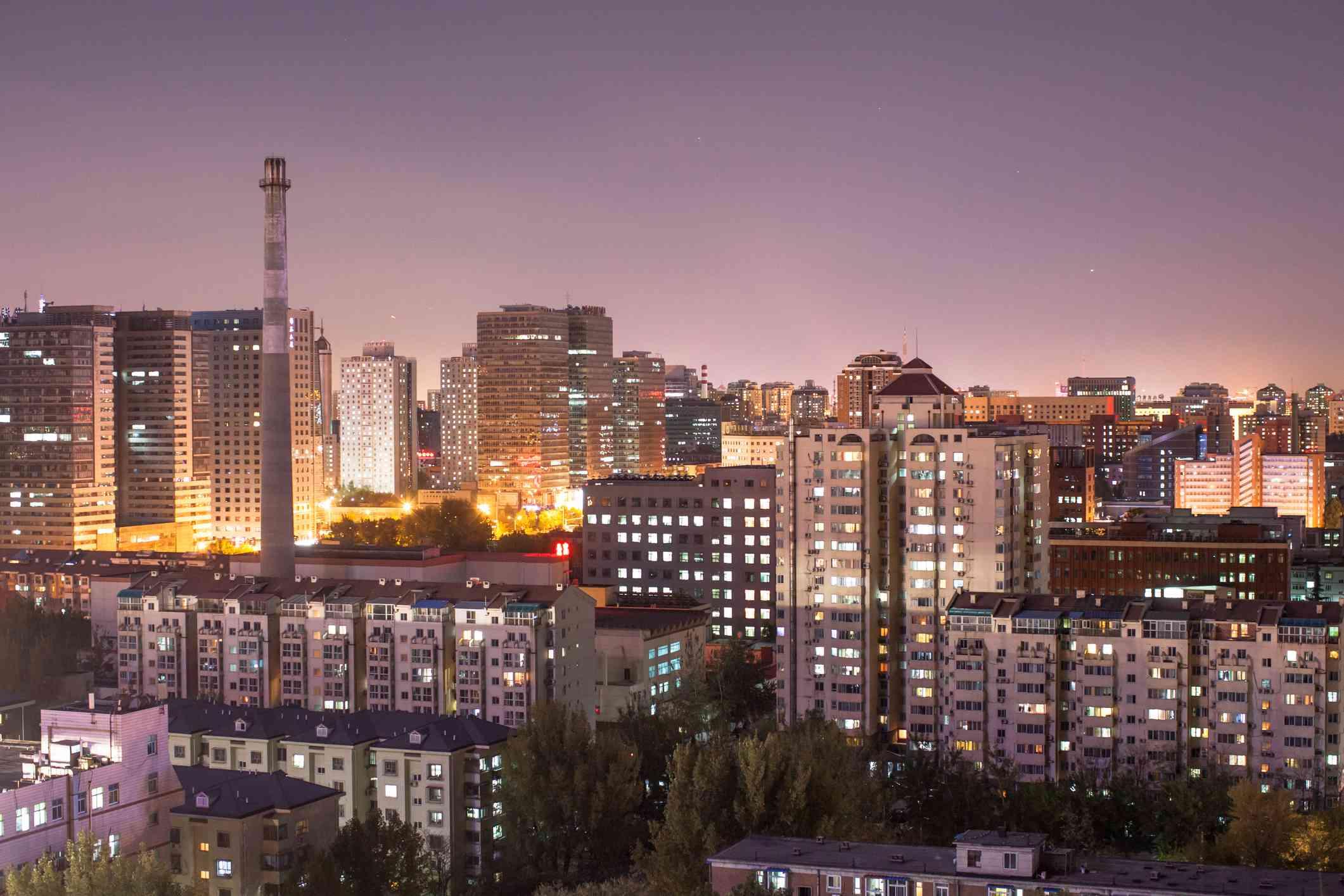 Wudaokou skyline