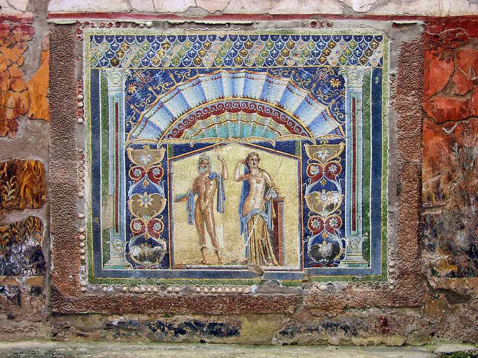 Mosaic from Herculaneum
