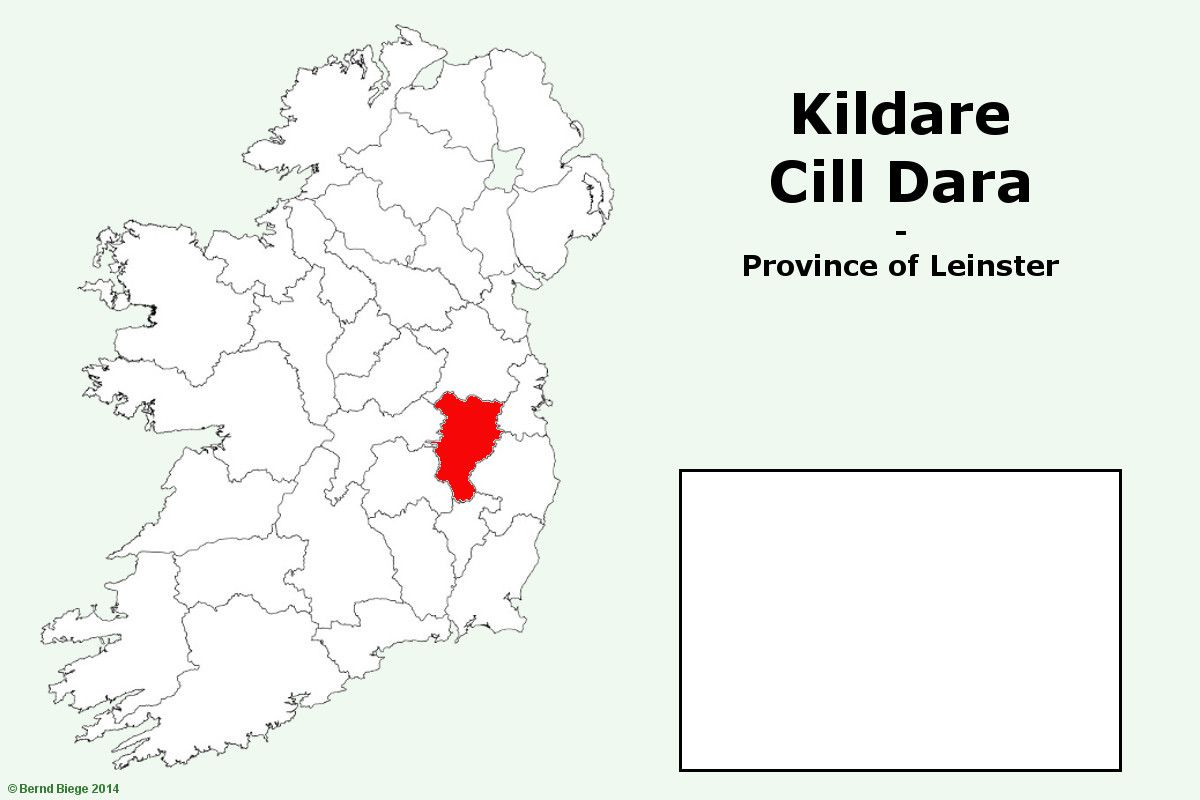 Map Of Ireland Leinster.Counties In The Province Of Leinster In Ireland