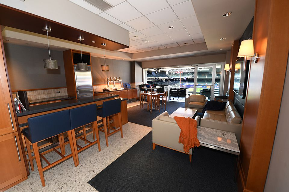 The mets suite at citifield