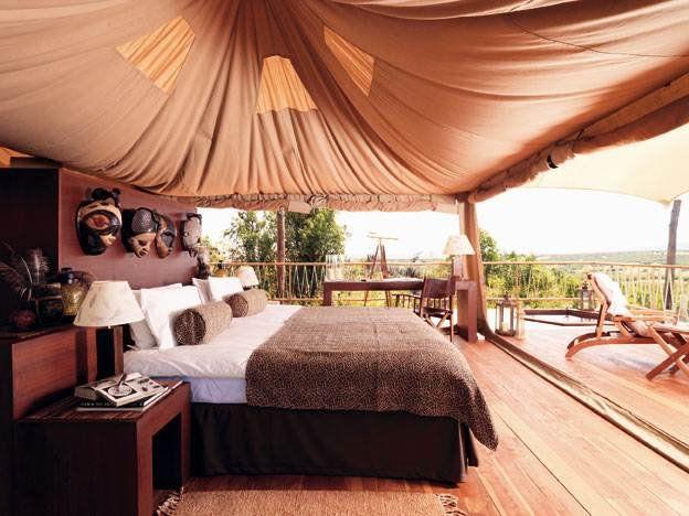 Mara Bushtops Tented Camp