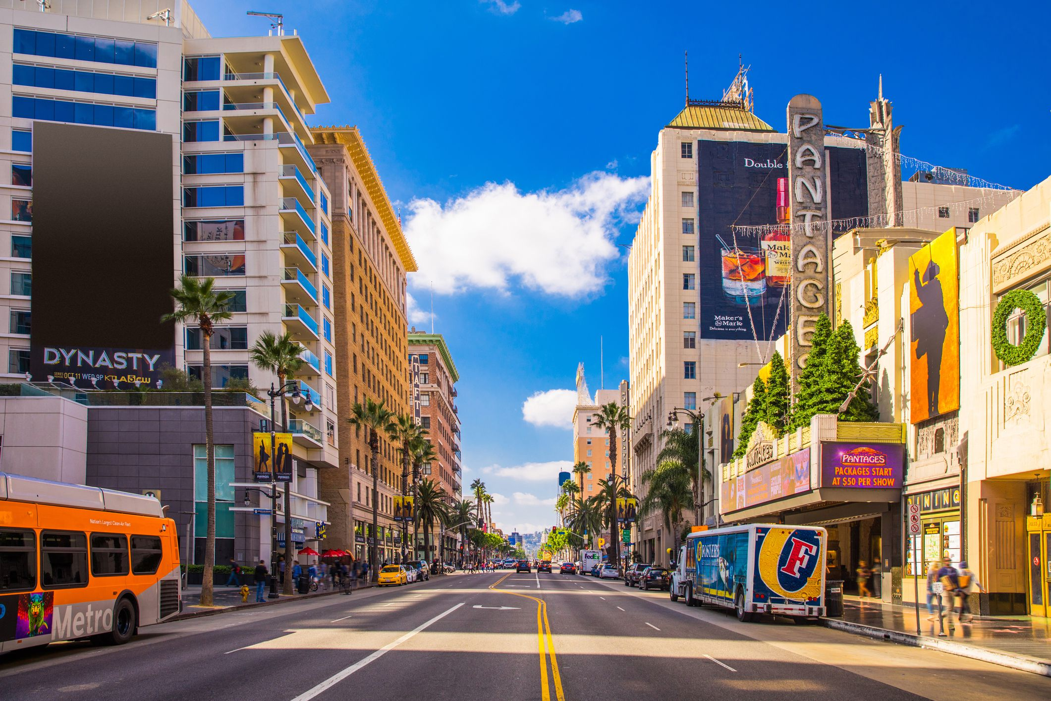 The Sunset Strip di West Hollywood