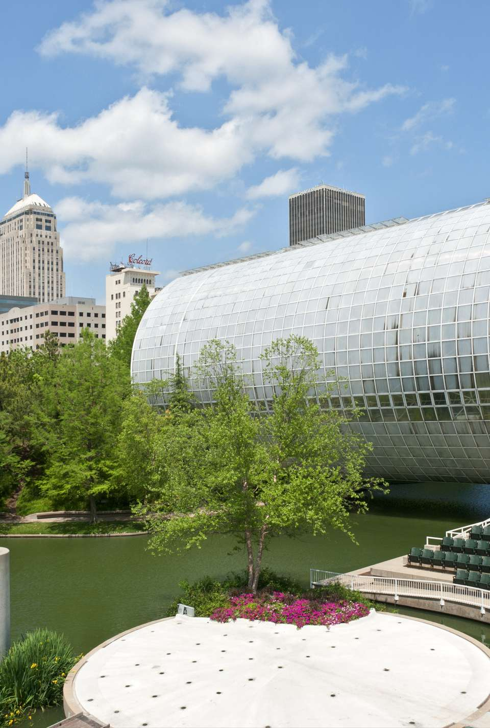 Myriad Botanical Gardens and Crystal Bridge Tropical Conservatory.