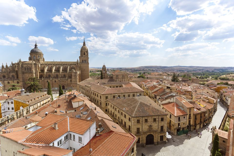 Salamanca, Spain from above