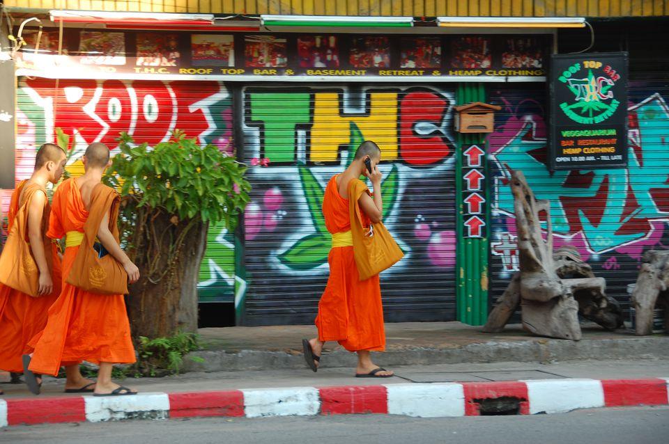 THC Rooftop Bar Chiang Mai