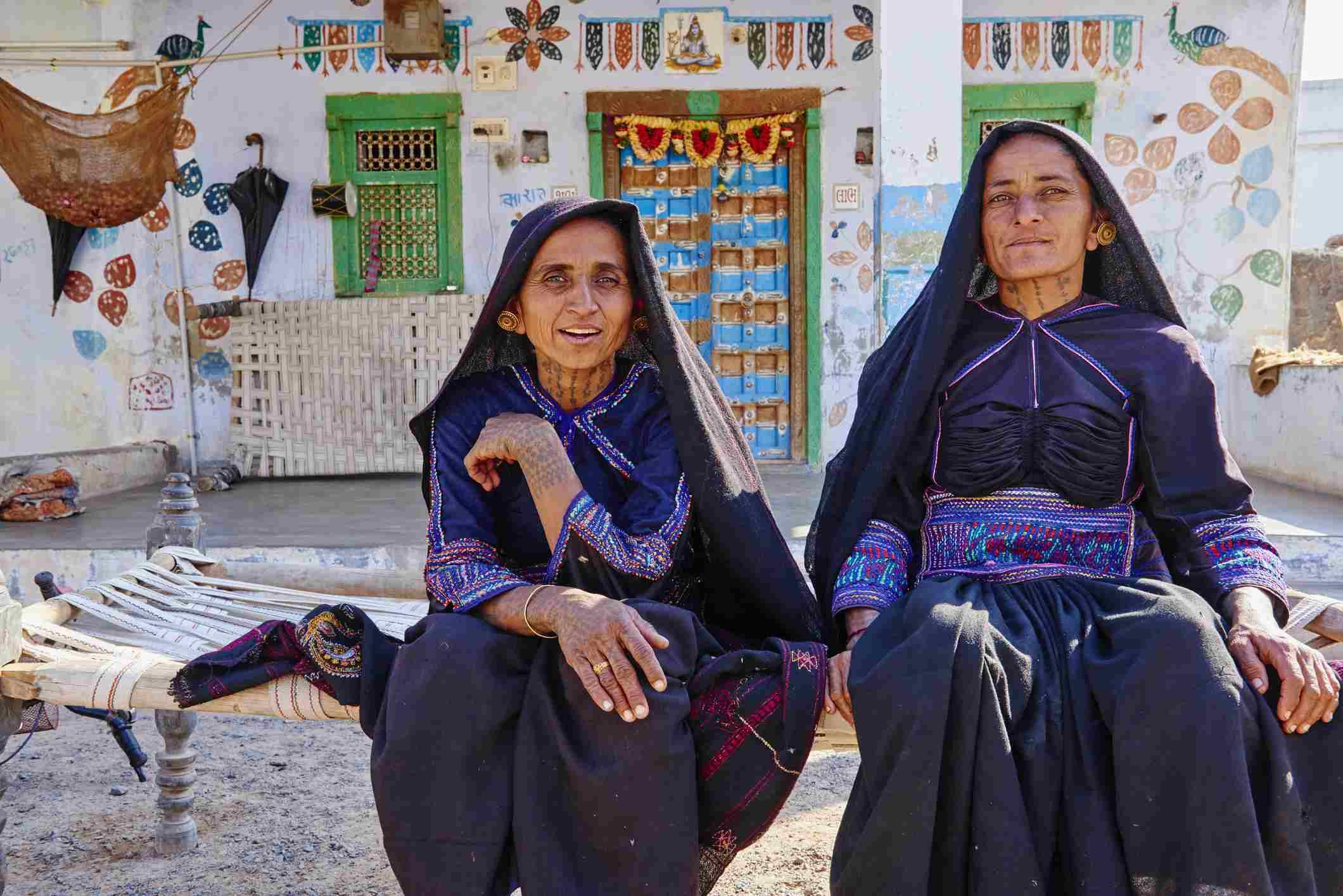 India, Gujarat, Rabari ethnic group