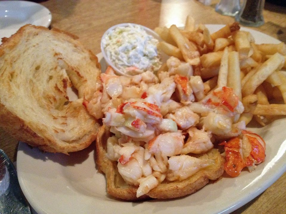 Lobster Croissant at Fresh Catch Near Boston in Mansfield MA