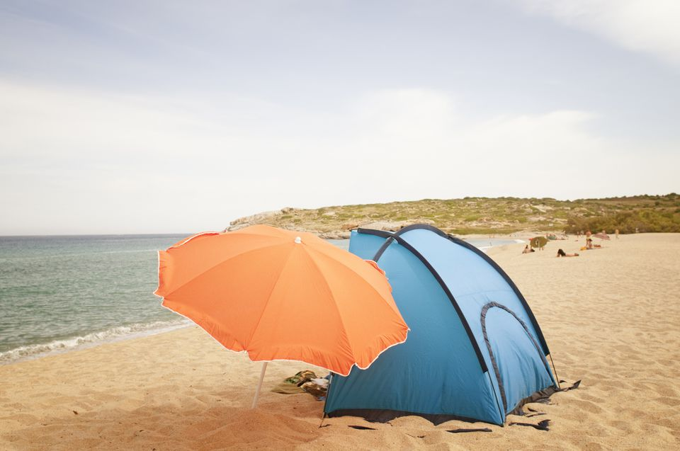 Camping at the Beach