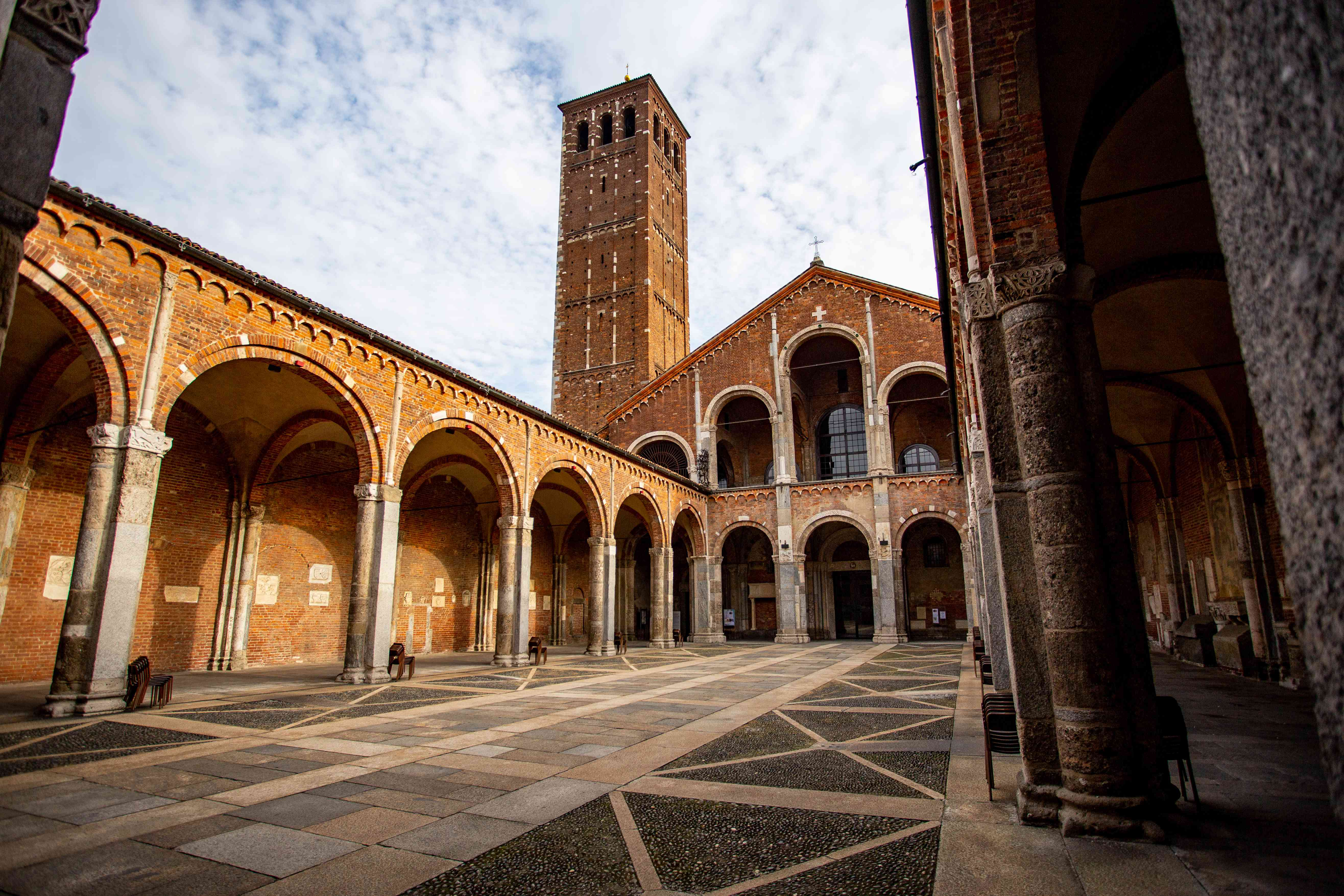 Basilica di Sant'Ambrogio in Milan