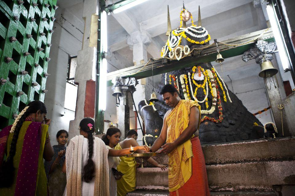 Bangalore Bull Temple.