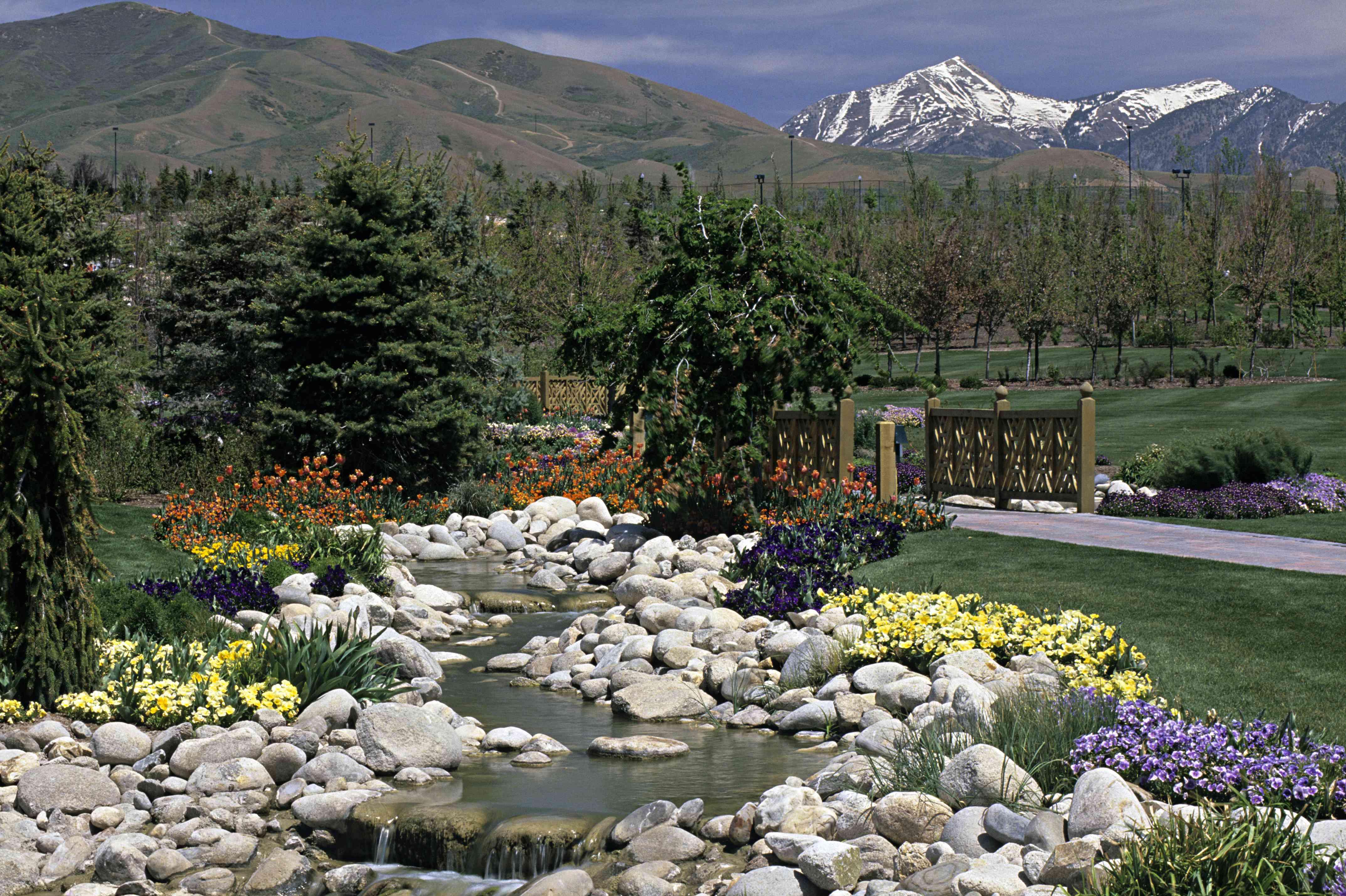 Thanksgiving gardens. Thanksgiving point, Utah (near Salt Lake City). USA