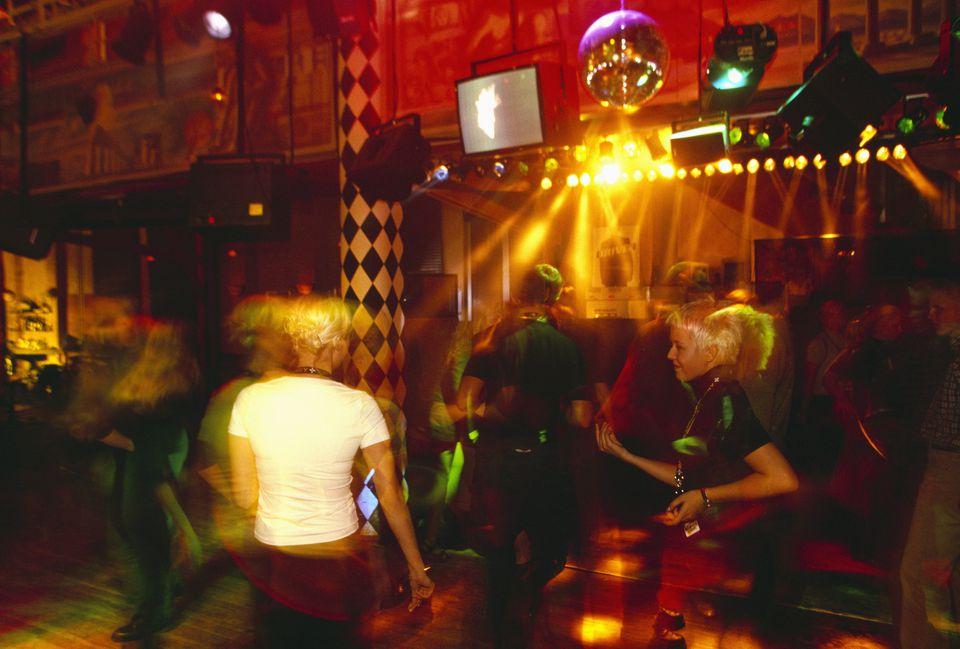 A nightclub in Helsinki.