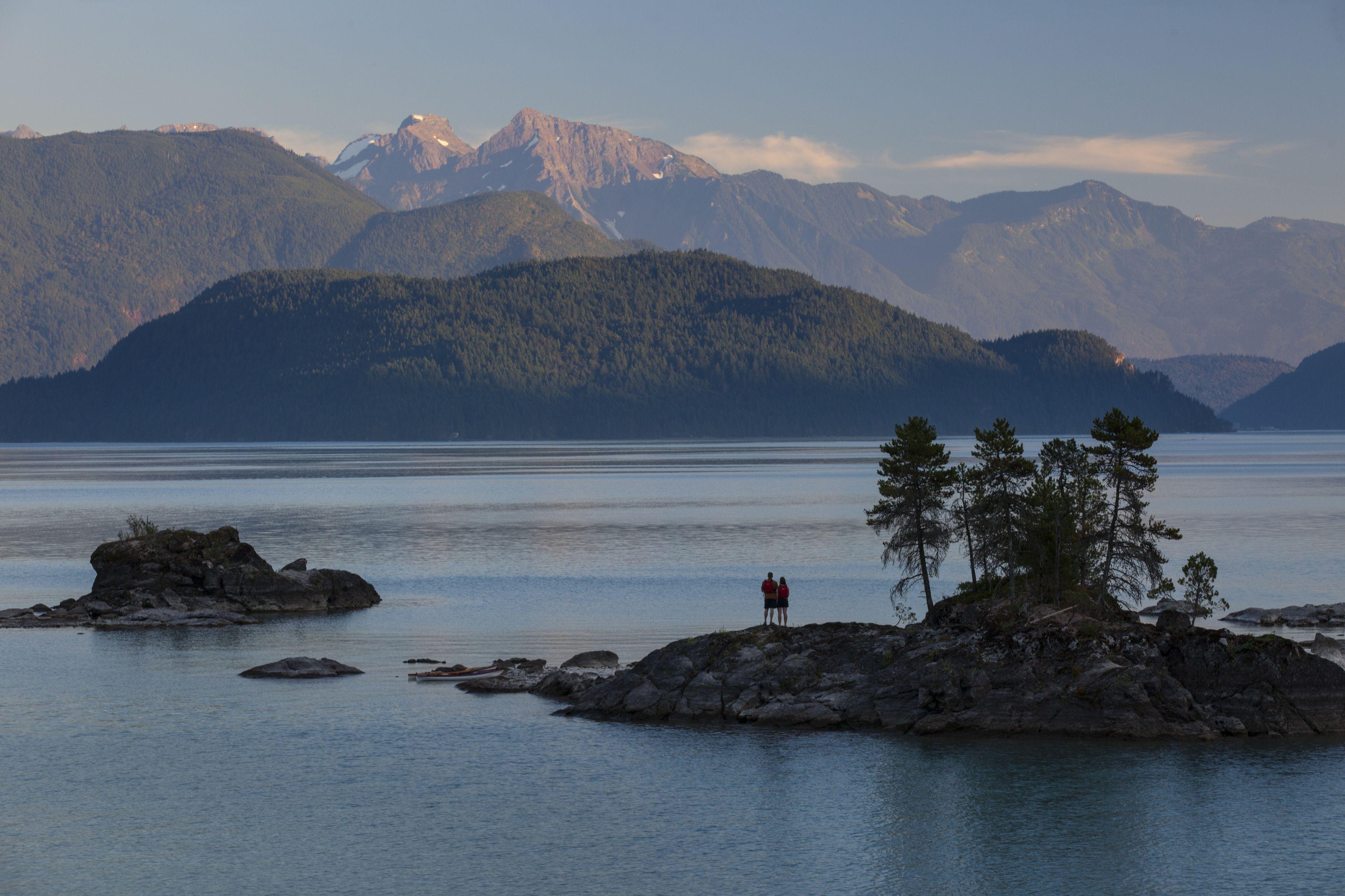 Harrison Lake, Harrison Hot Springs, British Columbia, Canada