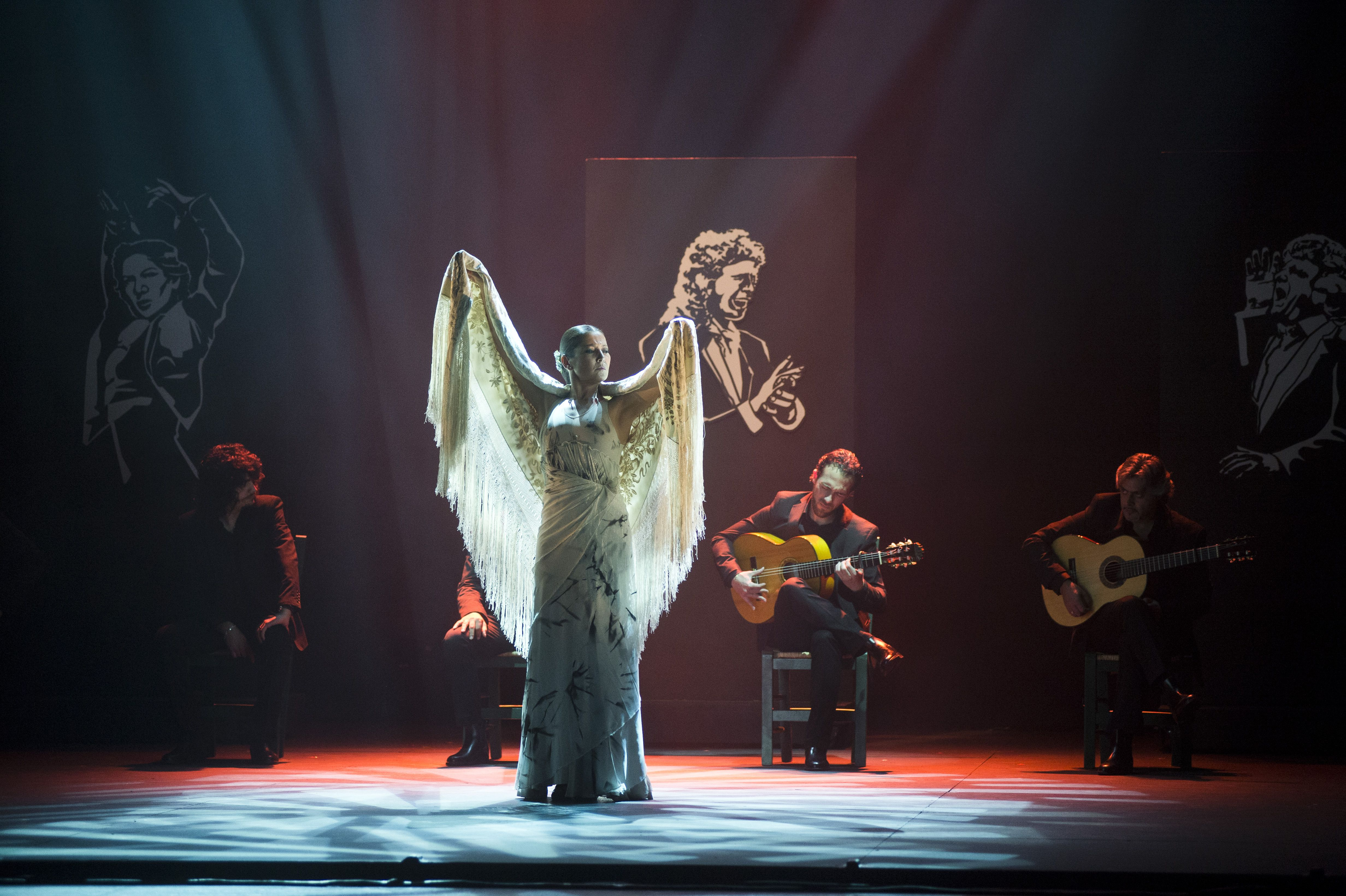 Sara Baras Performs on Stage 'Voces' in Barcelona