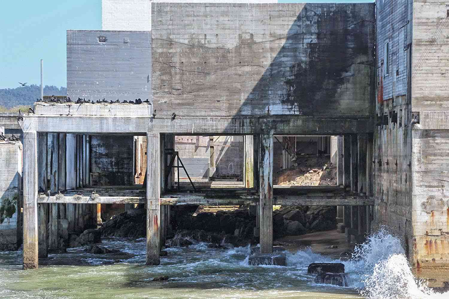 Abandoned Buildings on Cannery Row
