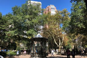 View of Rittenhouse Square