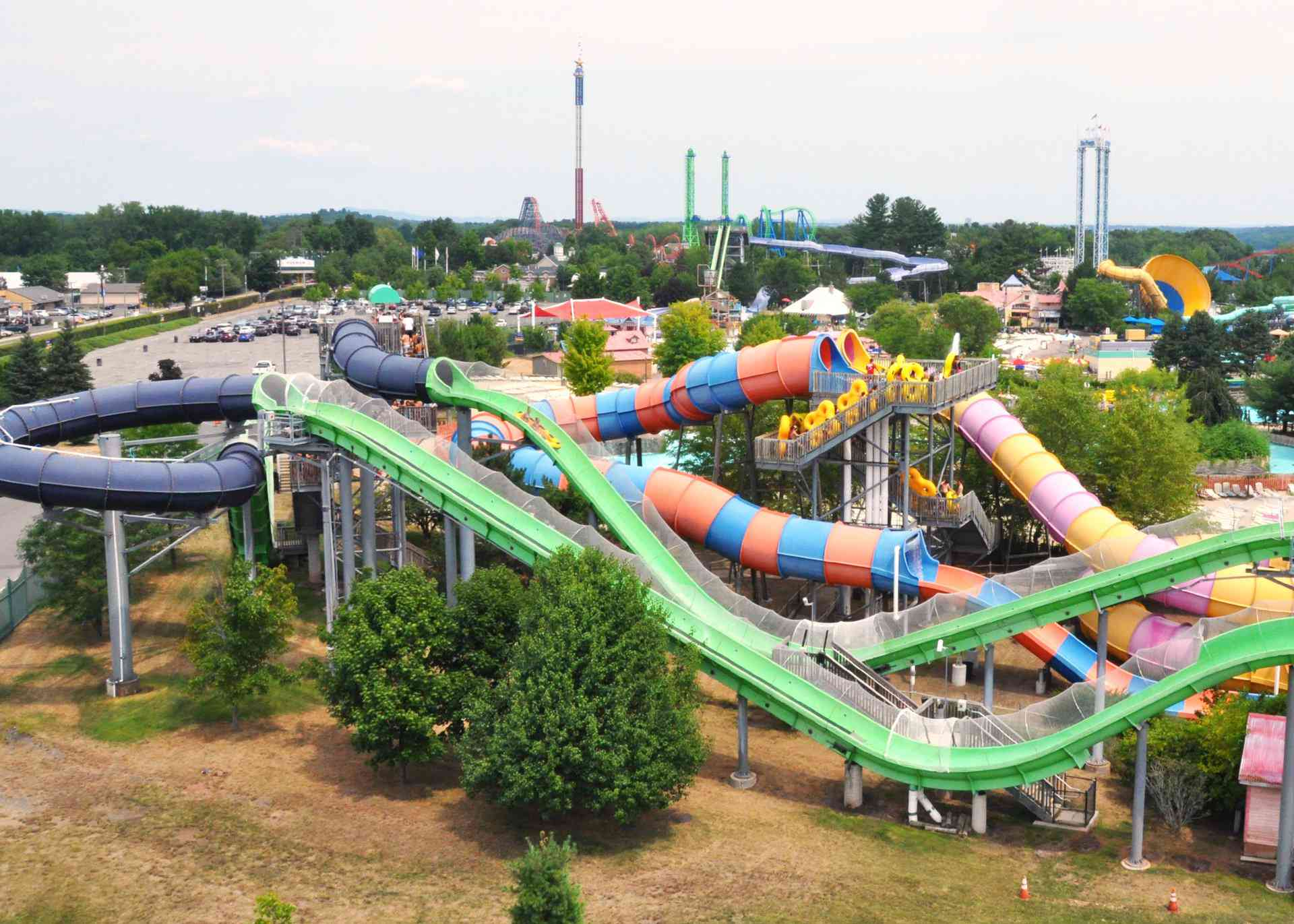 Hurricane Harbor Waterpark at Six Flags New England