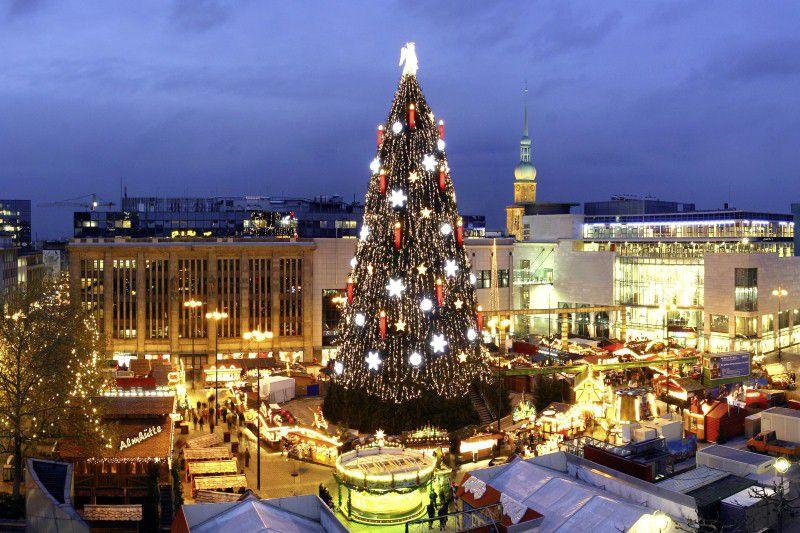 dortmund christmas market - Worlds Tallest Christmas Tree