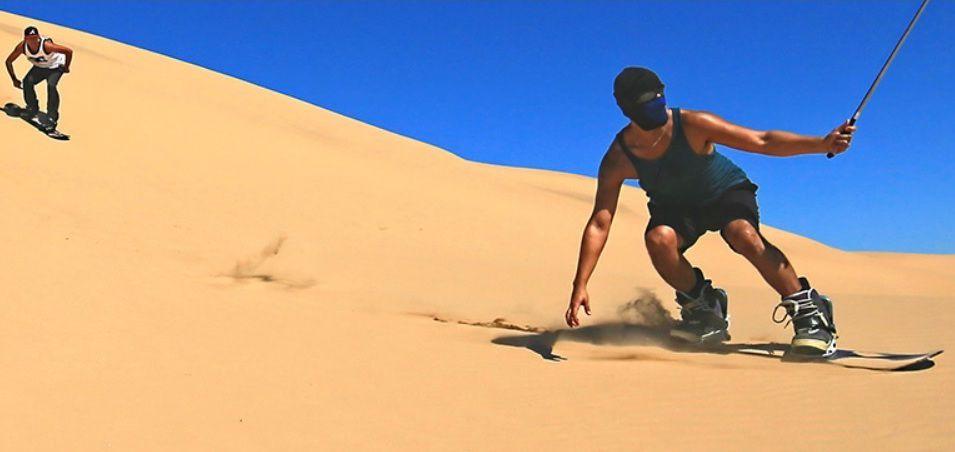 Baja sandboarding