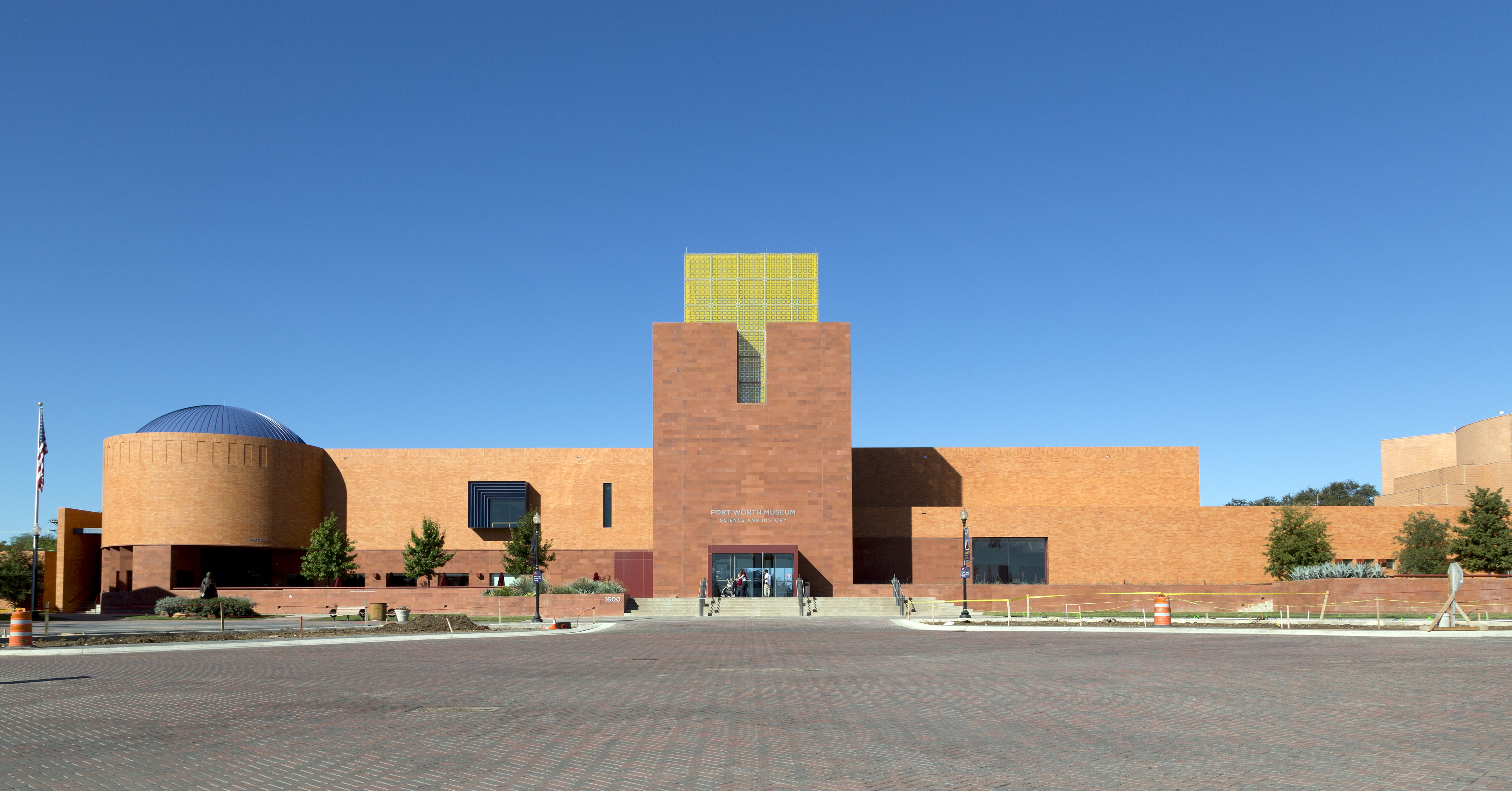 The Fort Worth Museum of Science and History, in Fort Worth, Texas