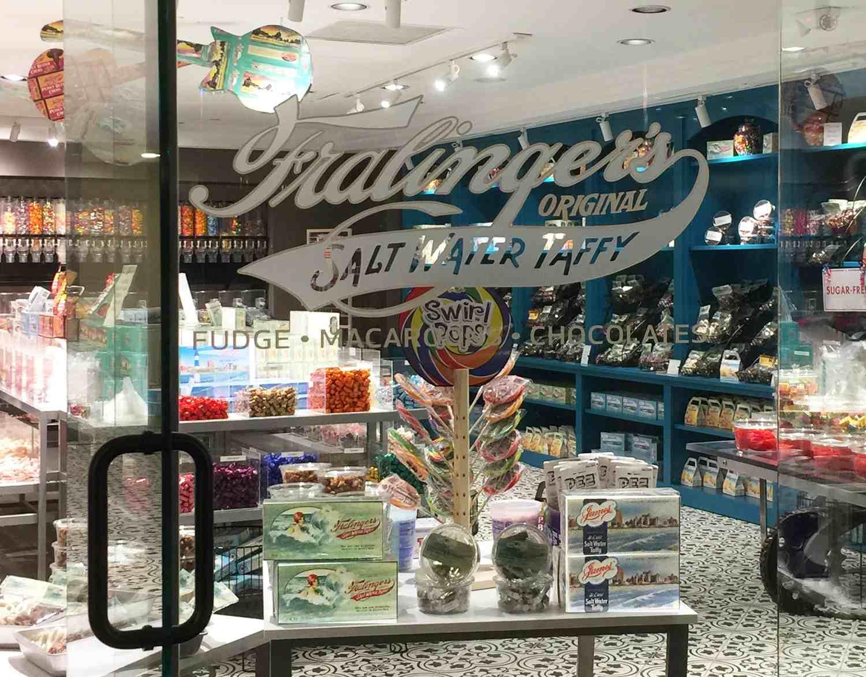 fralingers salt water taffy store
