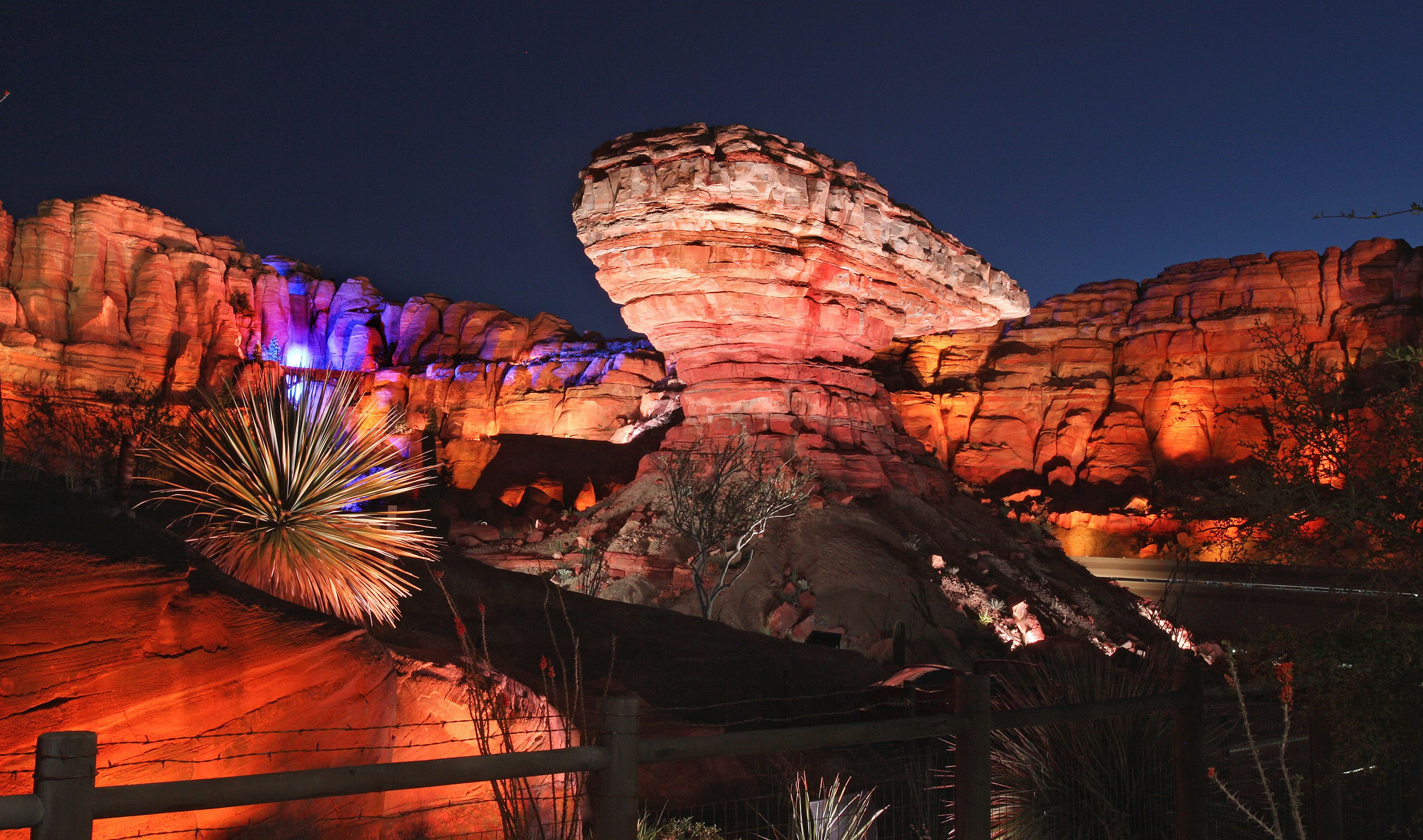 Ornament Valley at Cars Land