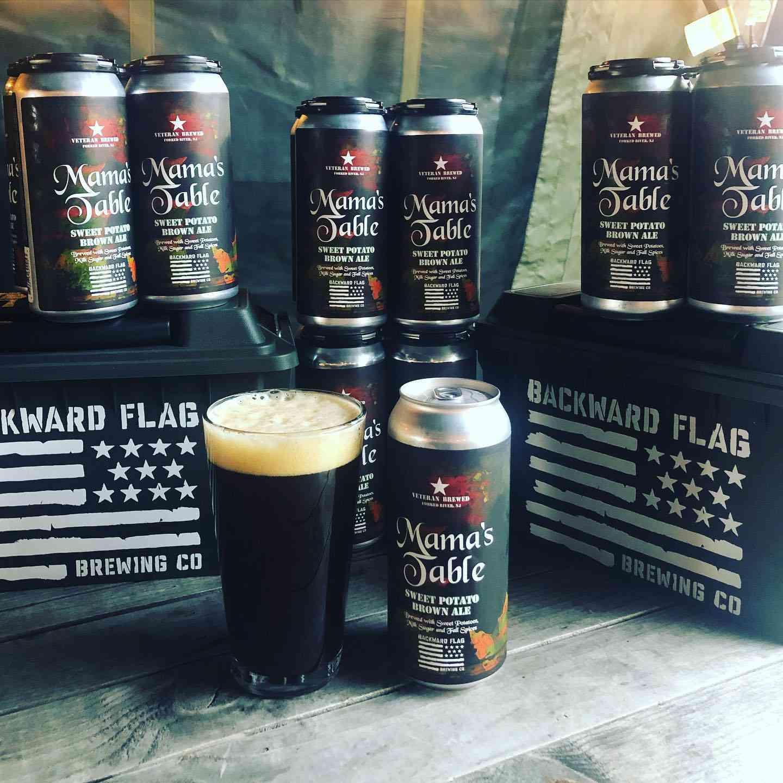 Beer from Backward Flag