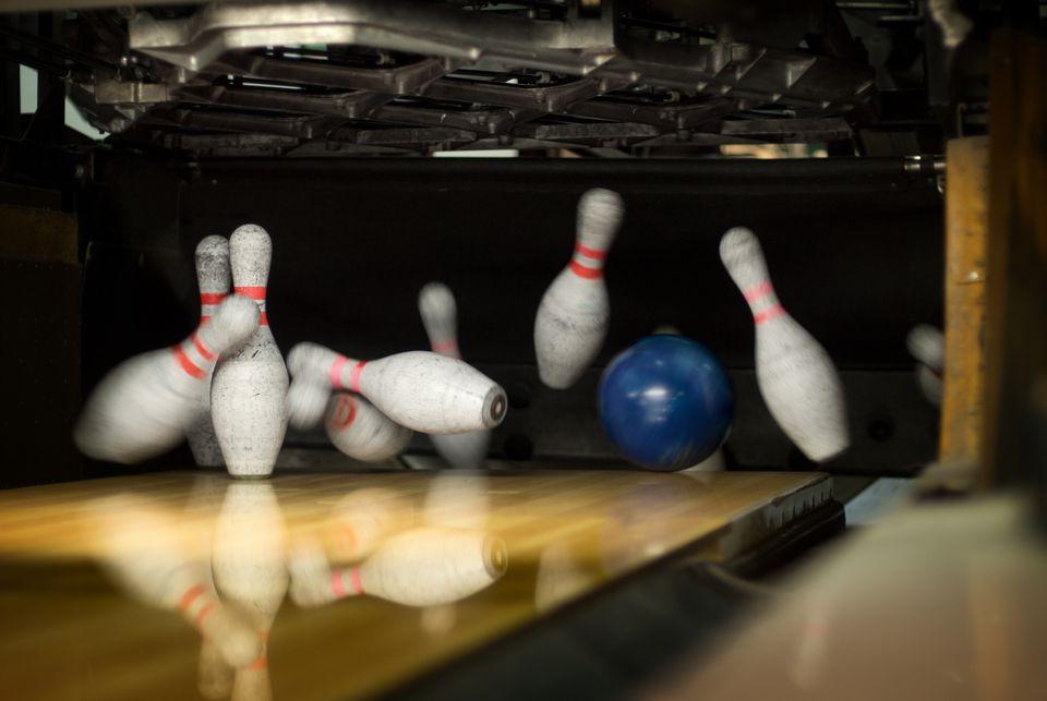 Bowling Pin Action