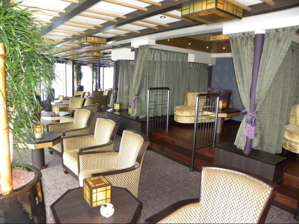 Nieuw Amsterdam cruise ship Silk Den bar
