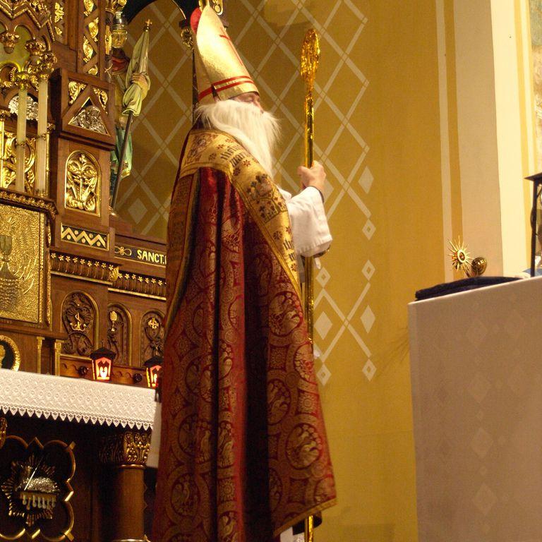 Mikolaj, the Polish Santa Claus