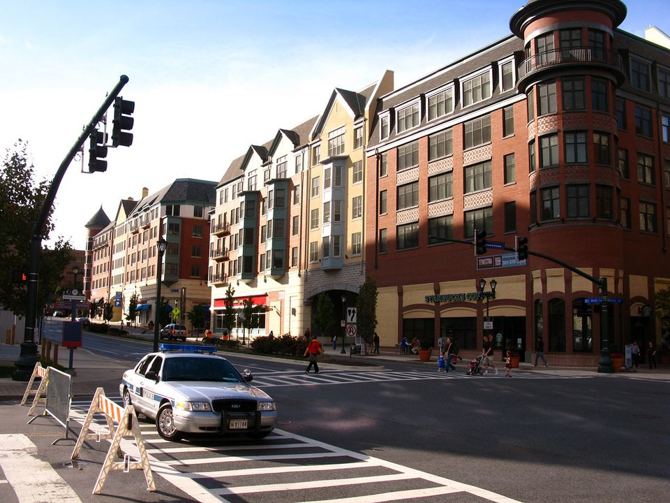 Maryland Avenue in Rockville