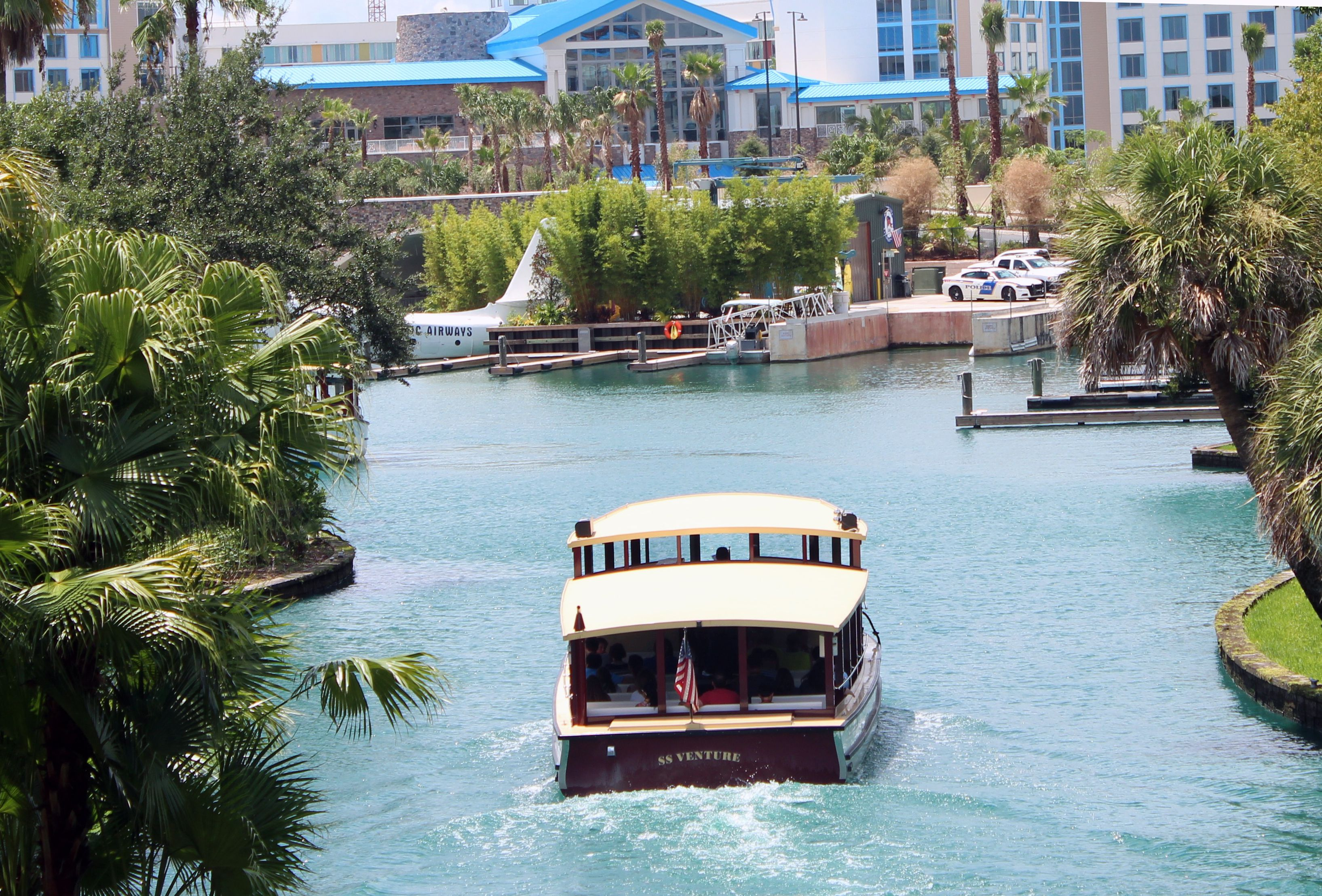 Universal Orlando water taxi