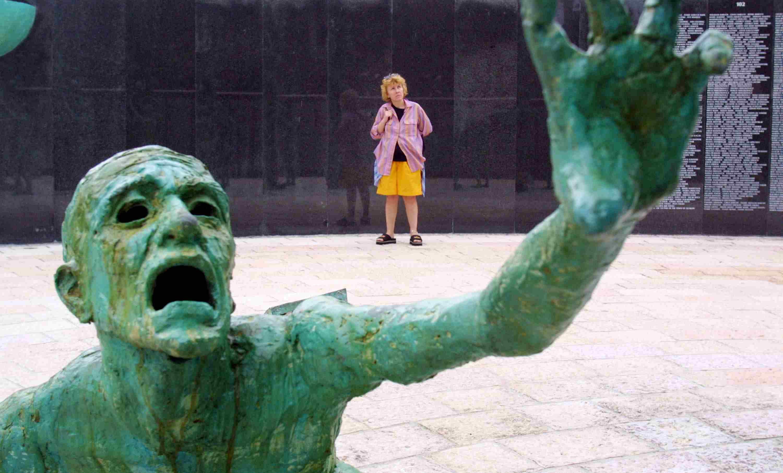 The Holocaust Memorial in Miami Beach
