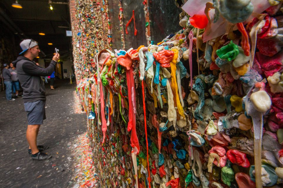 Gum wall Seattle