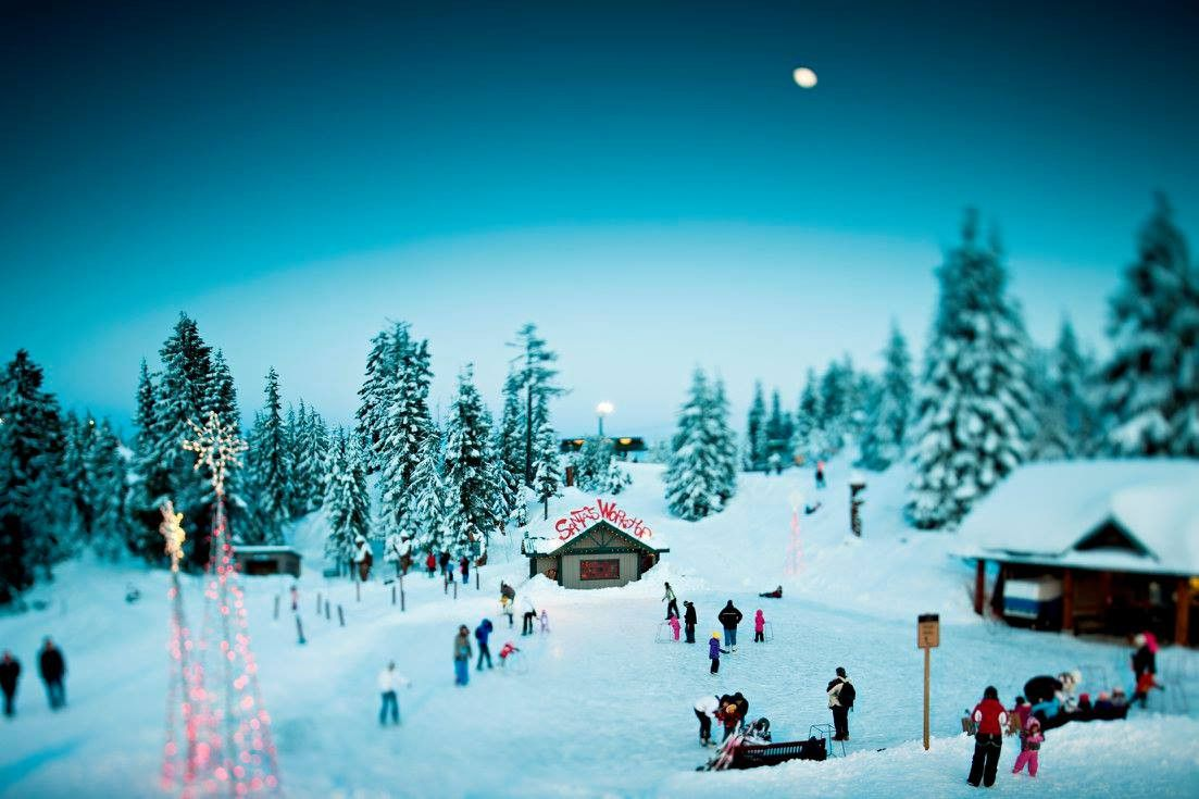 Vancouver Christmas Snow.Top 9 Christmas Attractions In Vancouver Canada