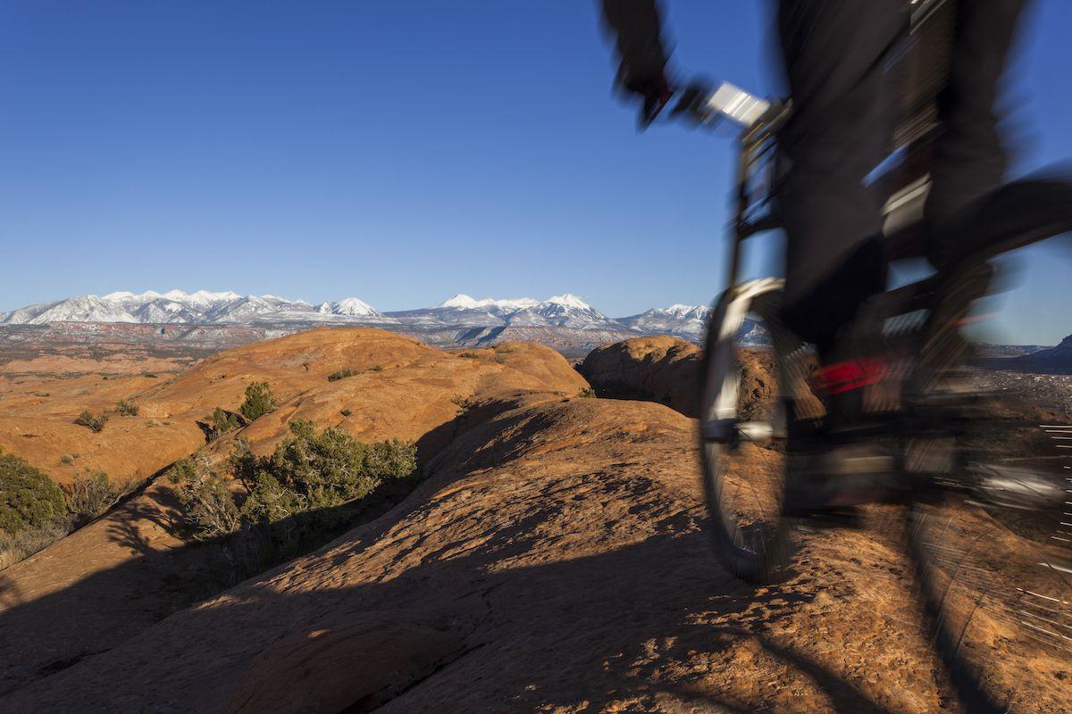 Bikepacking moab Utah